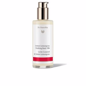 Body moisturiser LEMON LEMONGRASS vitalizing body milk Dr. Hauschka