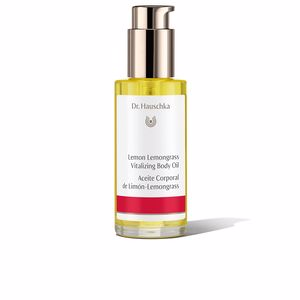 Body moisturiser LEMON LEMONGRASS vitalizing body oil Dr. Hauschka