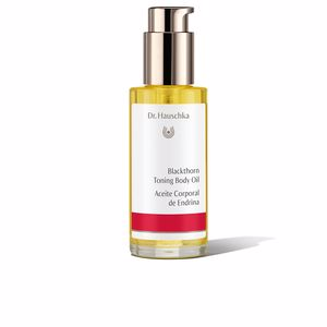Body firming  - Body moisturiser BLACKTHORN toning body oil Dr. Hauschka