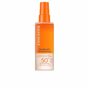 Body SUN BEAUTY nude skin sensation sun protective water SPF50 Lancaster