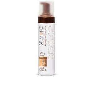 Lichaam ADVANCED PRO FORMULA 5in1 tanning mousse #medium St. Moriz
