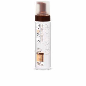 Corporales ADVANCED PRO FORMULA 5in1 tanning mousse #dark St. Moriz
