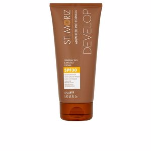 Corps ADVANCED PRO FORMULA gradual tan & protect cream SPF30 St. Moriz