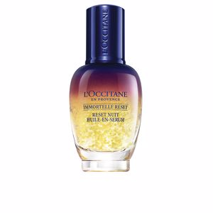Cremas Antiarrugas y Antiedad IMMORTELLE reset overnight oil in serum L'Occitane