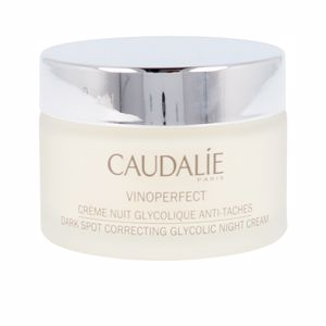 Anti blemish treatment cream VINOPERFECT crème nuit glycolique anti-taches Caudalie