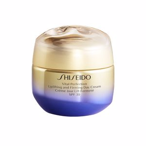 Tratamento para flacidez do rosto - Anti-rugas e anti envelhecimento VITAL PERFECTION uplifting & firming day cream SPF30 Shiseido