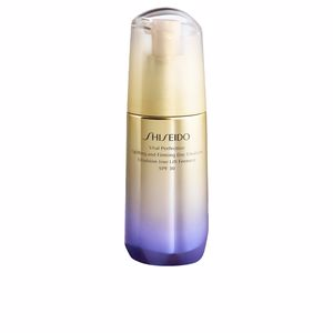 Tratamento para flacidez do rosto - Anti-rugas e anti envelhecimento VITAL PERFECTION uplifting & firming day emulsion Shiseido