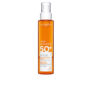 Body SOLAIRE eau en brume corps SPF50+ spray Clarins