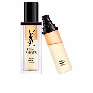 Cremas Antiarrugas y Antiedad - Tratamiento Facial Antifatiga - Tratamiento Facial Antioxidante PURE SHOTS night reboot serum recharge Yves Saint Laurent