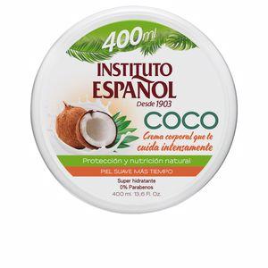 Body moisturiser COCO crema corporal super hidratante Instituto Español