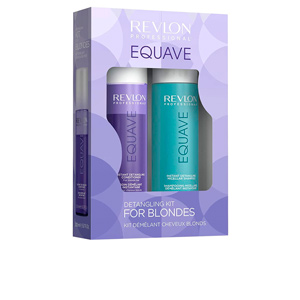 Hair gift set EQUAVE DETANGLING FOR BLONDES SET Revlon