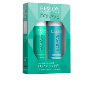 Hair gift set EQUAVE DETANGLING FOR VOLUME SET Revlon