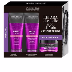 FRIZZ-EASE FORTALECEDOR set 3 pz