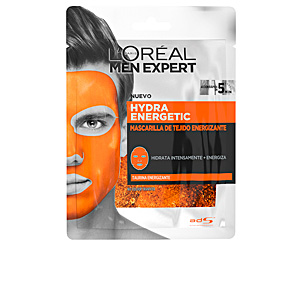 Face mask - Antifatigue facial treatment MEN EXPERT hydra energetic mascarilla facial tejido L'Oréal París