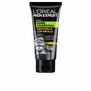 Face mask MEN EXPERT pure charcoal mascarilla arcilla L'Oréal París