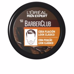 Hair styling product MEN EXPERT BARBER CLUB cera fijación look clásico L'Oréal París
