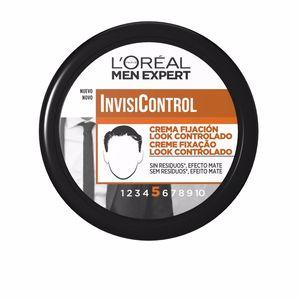 Producto de peinado MEN EXPERT INVISICONTROL crema fijación #8 L'Oréal París