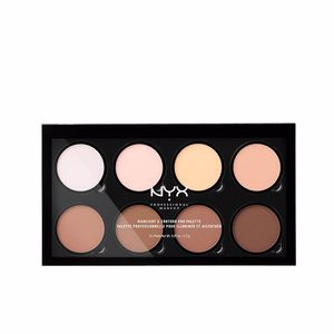 Highlighter makeup HIGHLIGHT & CONTOUR PRO palette Nyx
