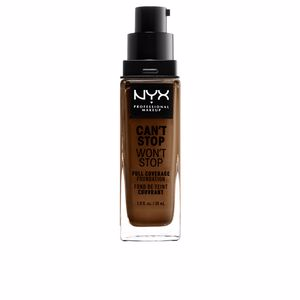 CAN'T STOP WON'T STOP full coverage foundation #walnut
