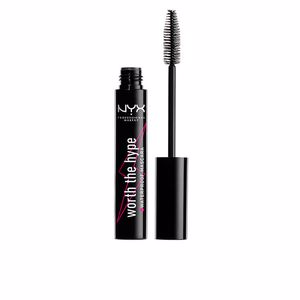 Máscara de pestañas WORTH THE HYPE waterproof mascara Nyx Professional Makeup