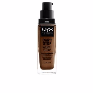 CAN'T STOP WON'T STOP full coverage foundation #cocoa