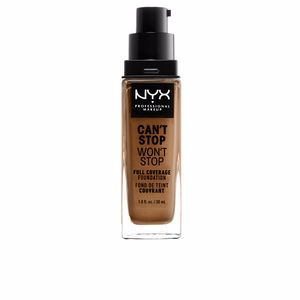 CAN'T STOP WON'T STOP full coverage foundation #nutmeg