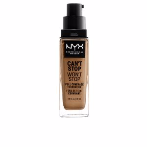 CAN´T STOP WON´T STOP full coverage foundation #caramel
