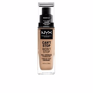Base maquiagem CAN'T STOP WON'T STOP full coverage foundation Nyx