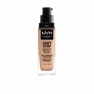 Foundation makeup CAN´T STOP WON´T STOP full coverage foundation Nyx Professional Makeup