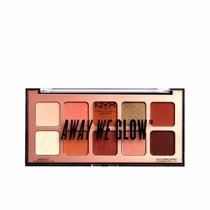 Sombra de ojos AWAY WE GLOW shadow palette Nyx Professional Makeup