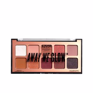 AWAY WE GLOW shadow palette #lovebeam 10x1