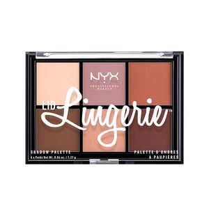Eye shadow LID LINGERIE shadow palette Nyx Professional Makeup