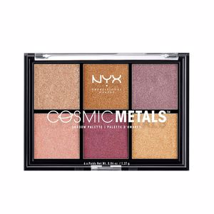 Eye shadow COSMIC METALS shadow palette Nyx Professional Makeup
