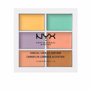 Corrector maquillaje CONCEAL CORRECT CONTOUR palette Nyx Professional Makeup