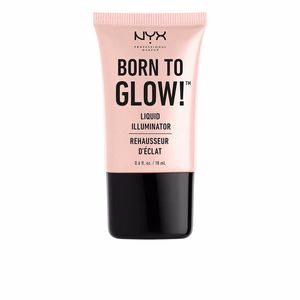 Highlighter makeup BORN TO GLOW! Liquid illuminator Nyx Professional Makeup