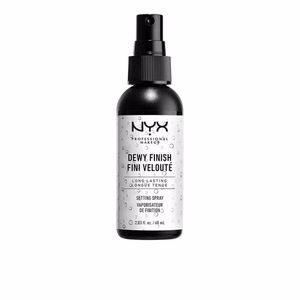 Makeup fixer DEWY FINISH setting spray Nyx