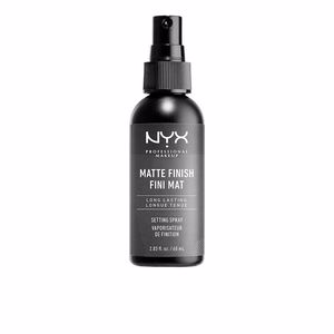 Fijador de maquillaje MATTE FINISH setting spray Nyx Professional Makeup