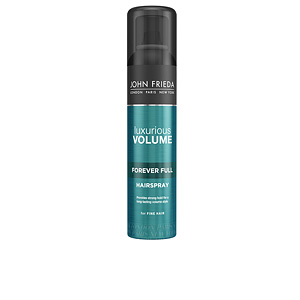 Hair styling product LUXURIOUS VOLUME laca volumen duradero John Frieda