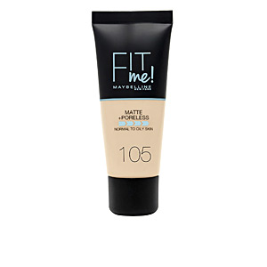 FIT ME! Foundation matte+poreless #105-natural ivory