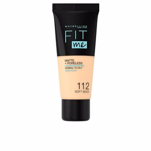 FIT ME! Foundation matte+poreless #112-soft beige