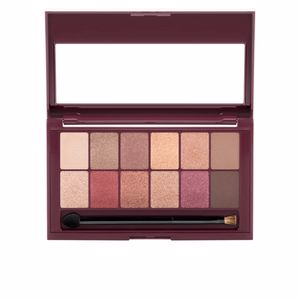 Lidschatten THE BURGUNDY BAR eye shadow palette Maybelline