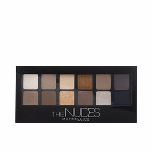 Ombre à paupières THE NUDES eye shadow palette Maybelline