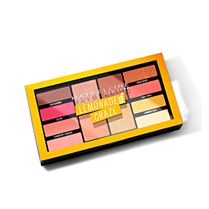 Ombre à paupières LEMONADE CRAZE eye shadow palette Maybelline