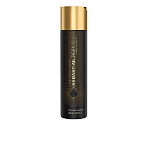 Shampoo for shiny hair DARK OIL lightweight shampoo Sebastian