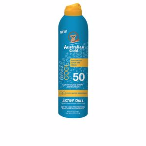 Korporal FRESH & COOL continuous spray sunscreen SPF50 Australian Gold