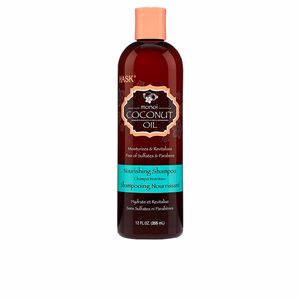 Moisturizing shampoo - Detangling shampoo MONOI COCONUT OIL nourishing shampoo Hask