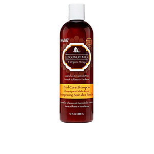 Anti-Frizz-Shampoo COCONUT MILK & HONEY curl care shampoo Hask