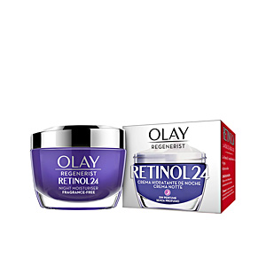 Anti aging cream & anti wrinkle treatment REGENERIST RETINOL24 crema hidratante noche Olay