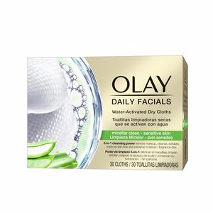 Make-up remover CLEANSE daily facials micellar toallitas secas PS Olay