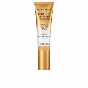 Base de maquillaje MIRACLE TOUCH second skin hybrid foundation SPF20 Max Factor